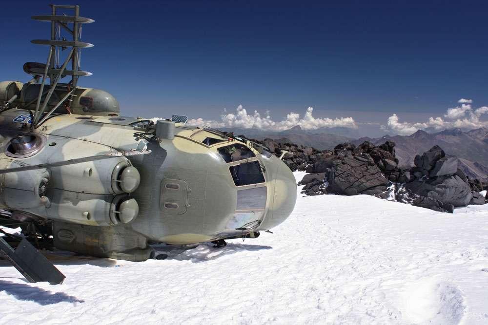 Helicoptero Ruso Perdido a mas de 4000 metros