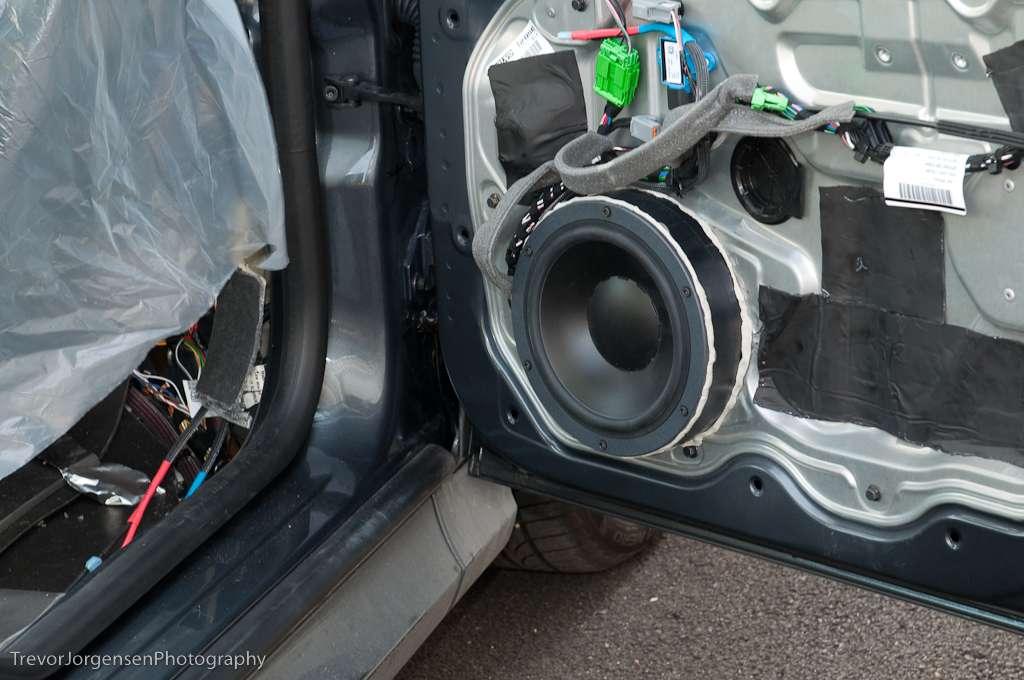 Door Speaker Baffle Amp Foam Baffle And Speaker Adapter Bracket From U003ca Href U003d Quot