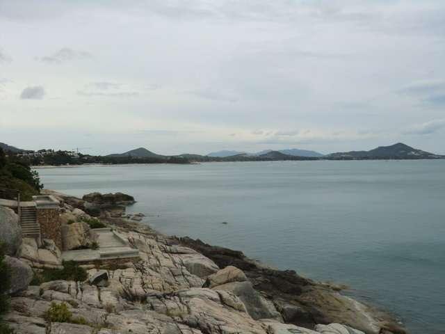 Blick in Richtung Chaweng Beach